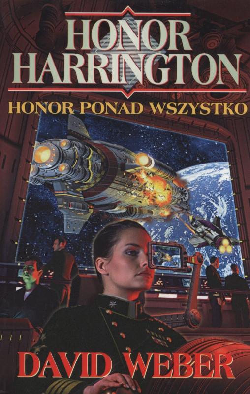 Okładka książki - Honor ponad wszystko