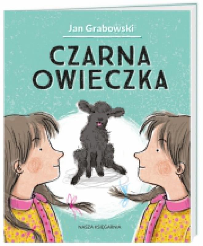 Okładka książki - Czarna owieczka. Moje poczytajki.