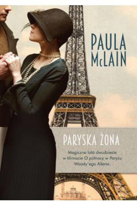 Okładka książki - Paryska żona
