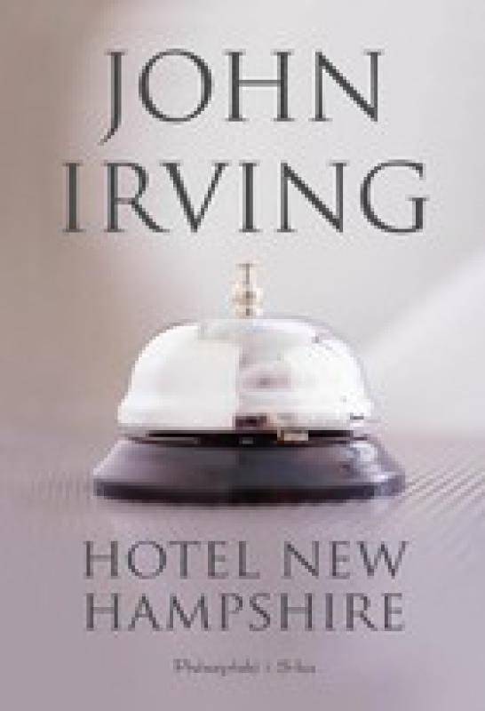 Okładka książki - Hotel New Hampshire