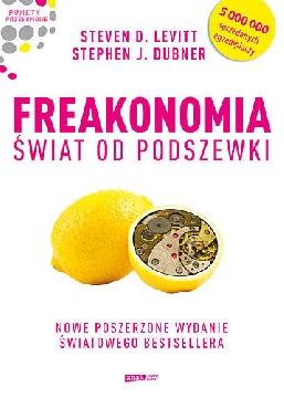 Ok�adka - Freakonomia. �wiat od podszewki