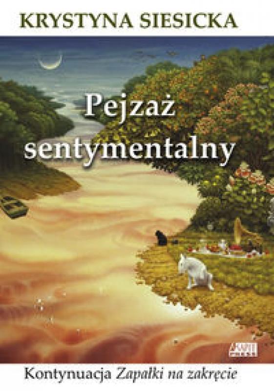 Okładka książki - Pejzaż sentymentalny