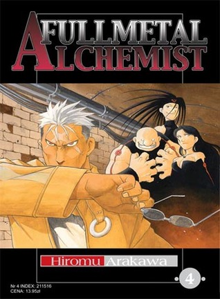 Okładka książki - Fullmetal Alchemist tom 4