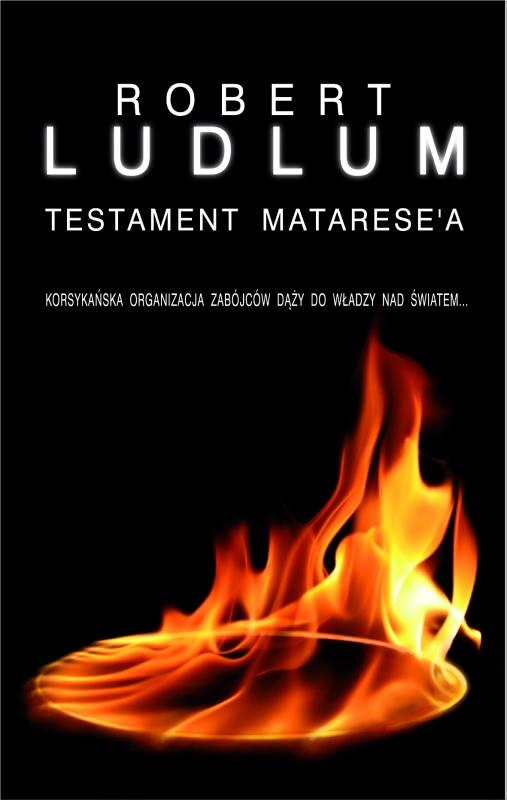 Okładka książki - Testament Matarese'a
