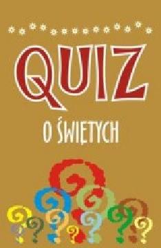 Okładka - Quiz o świętych