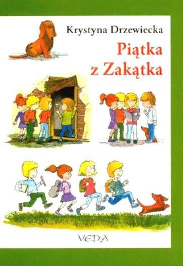 Okładka książki - Piątka z zakątka