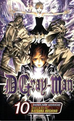 Okładka książki - D.Gray-man tom 10