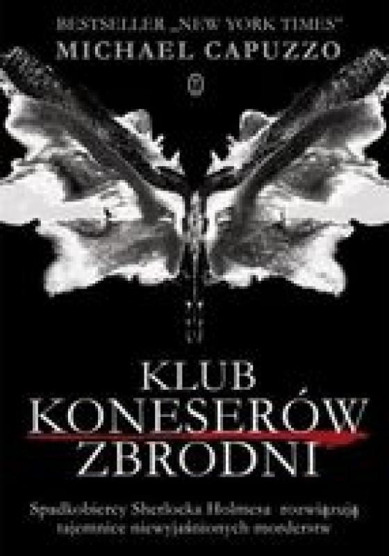 Okładka książki - Klub Koneserów Zbrodni