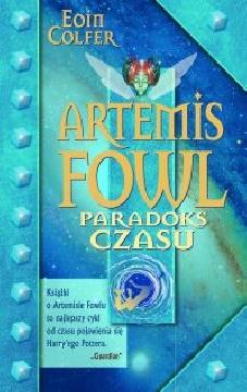 Ok�adka - Artemis Fowl. Paradoks czasu