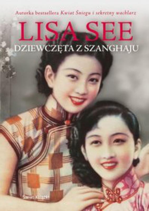 Okładka książki - Dziewczęta z Szanghaju