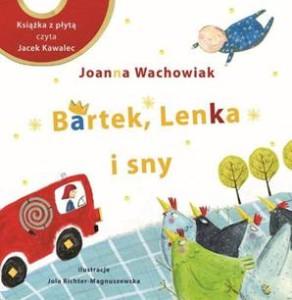 Okładka książki - Bartek, Lenka i sny