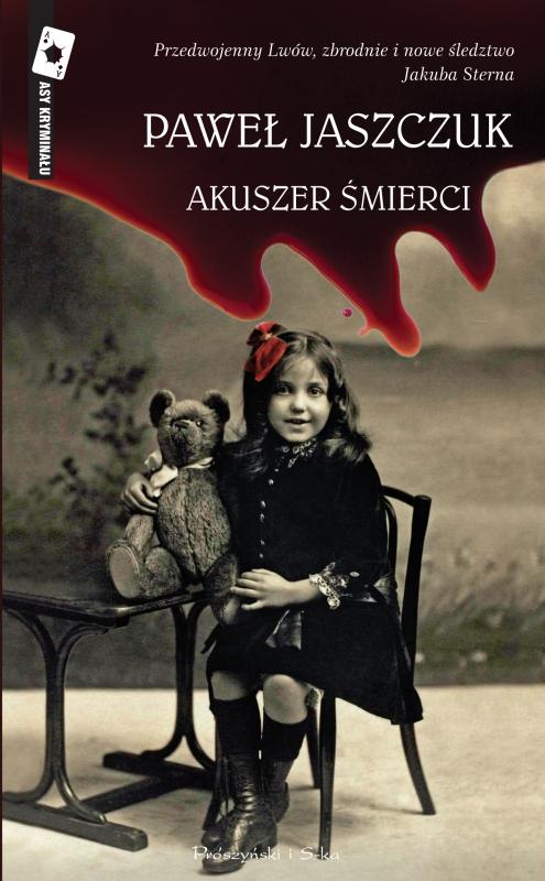 Okładka książki - Akuszer śmierci