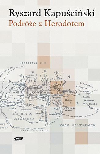 Okładka książki - Podróże z Herodotem
