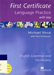 Okładka książki - FIRST CERTIFICATE LANGUAGE PRACTICE