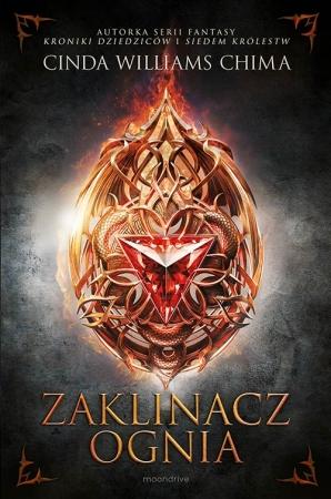 Okładka książki - Starcie królestw. Tom 1. Zaklinacz ognia