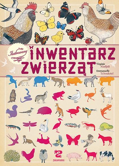 Okładka książki - Ilustrowany inwentarz zwierząt