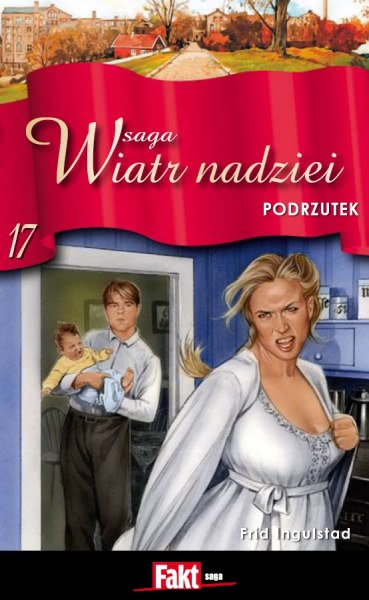 Ok�adka - Saga Wiatr Nadziei 17. Podrzutek