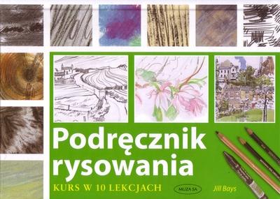 Okładka książki - Podręcznik rysowania