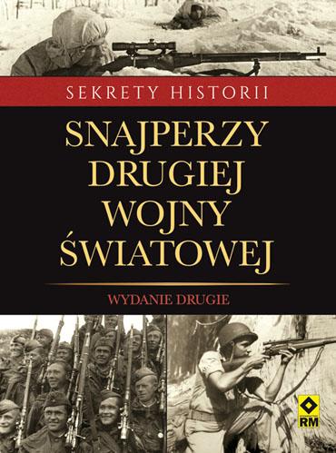 Okładka książki - Snajperzy drugiej wojny światowej