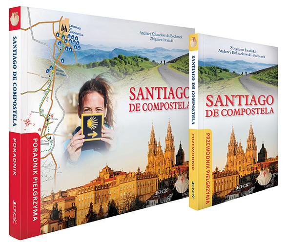 Okładka książki - Santiago de Compostela. Poradnik i Przewodnik pielgrzyma