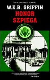 Okładka - Honor szpiega