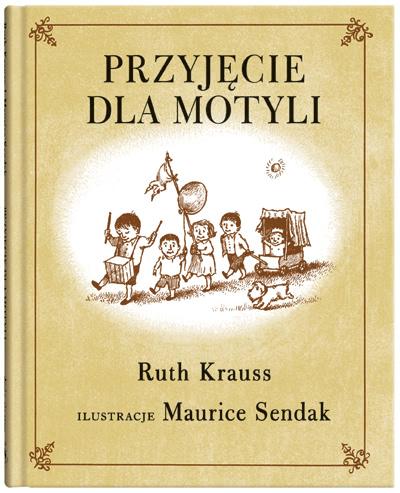 Okładka książki - Przyjęcie dla motyli