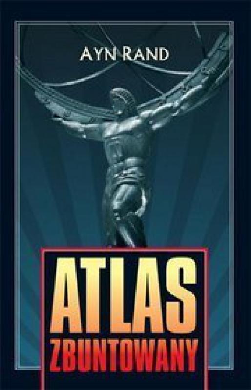 Okładka książki - Atlas zbuntowany