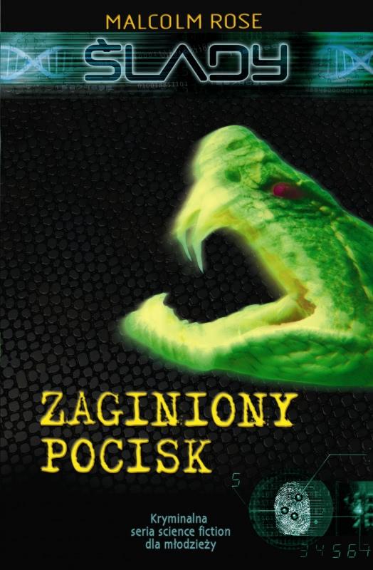 Okładka książki - Ślady. Zaginiony pocisk