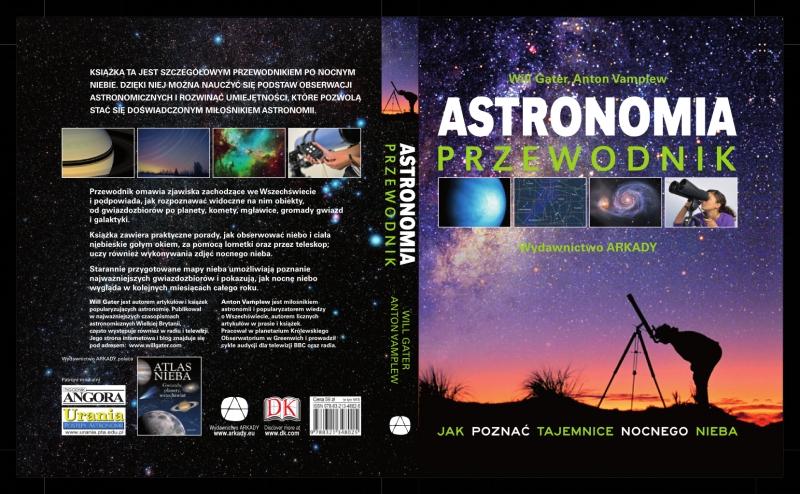 Okładka książki - Astronomia Przewodnik. Jak poznać tajemnice nocnego nieba