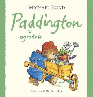 Okładka książki - Paddington w ogrodzie