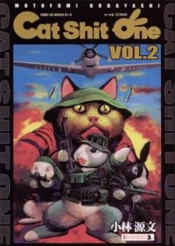 Okładka książki - Cat Shit One t. 2