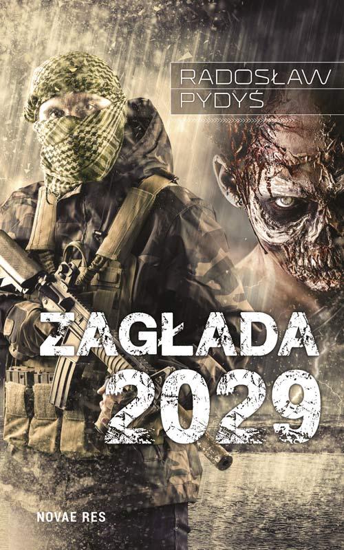 Okładka książki - Zagłada 2029