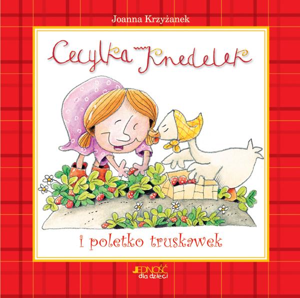 Okładka książki - Cecylka Knedelek i poletko truskawek