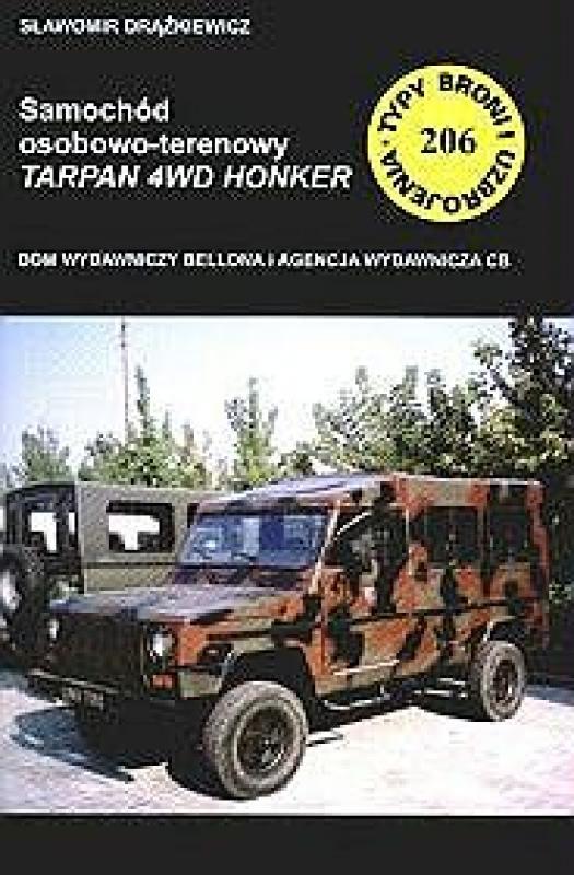 Okładka książki - Samochód osobowo - terenowy Tarpan 4WD Honker