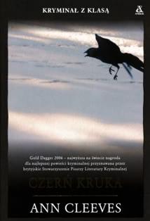 Okładka ksiązki - Czerń kruka