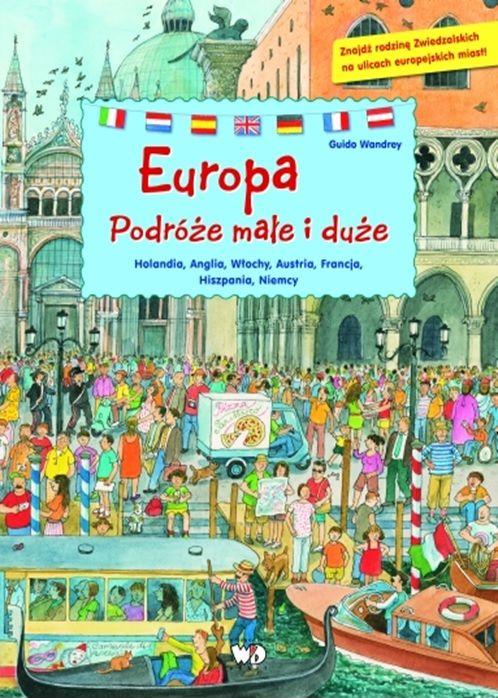 Okładka książki - Europa. Podróże małe i duże