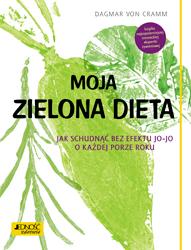 Okładka książki - Moja zielona dieta. Jak schudnąć bez efektu jo-jo o każdej porze roku