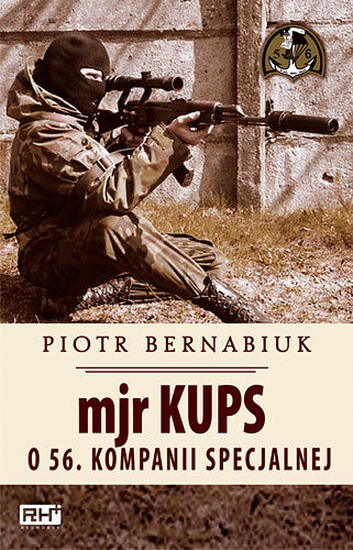 Okładka książki - Mjr Kups o 56. Kompanii Specjalnej