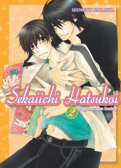 Okładka książki - Sekaiichi Hatsukoi tom 2. Przypadek Ritsu Onodery