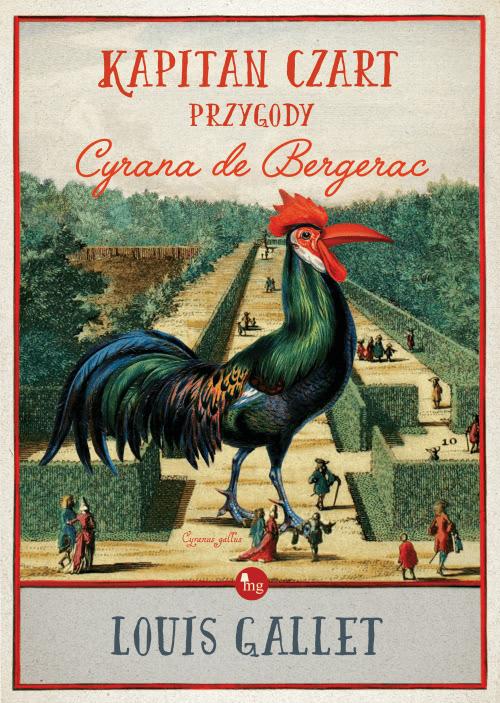 Okładka książki - Kapitan Czart, przygody Cyrana de Bergerac