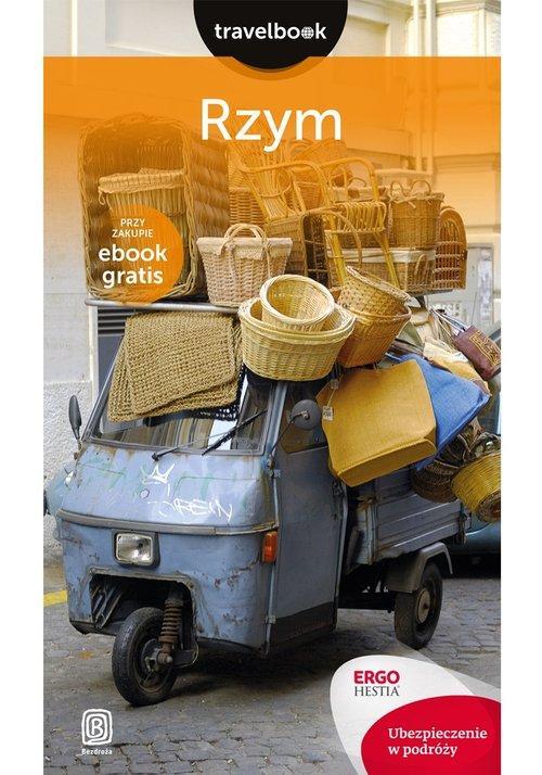 Okładka książki - Rzym Travelbook