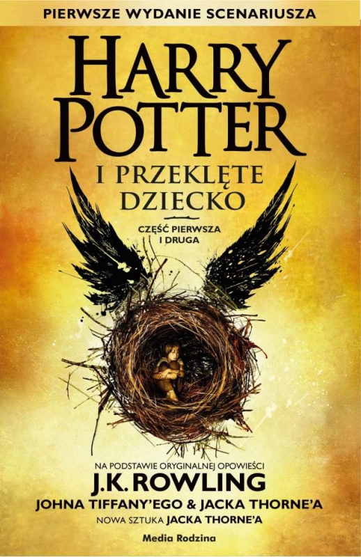 Okładka książki - Harry Potter i Przeklęte Dziecko (Harry Potter and the Cursed Child)
