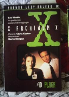 Okładka książki - Z Archiwum X  Plaga