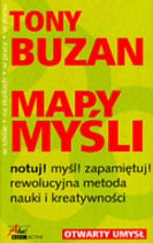 Okładka książki - Mapy myśli