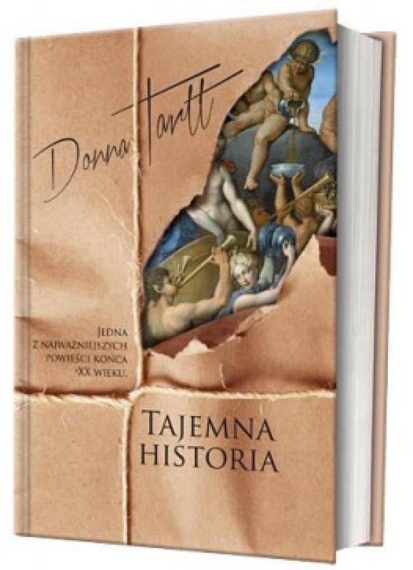 Okładka książki - Tajemna historia