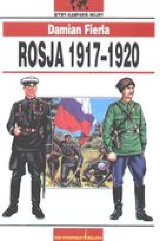 Okładka książki - Rosja 1917-1920