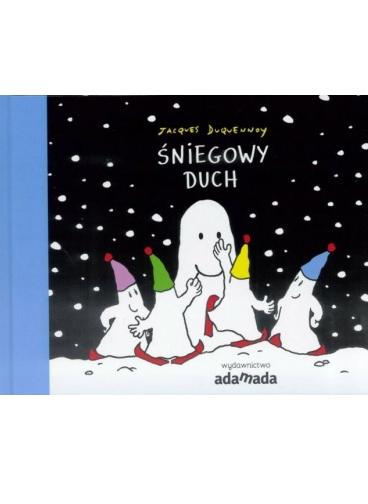 Okładka książki - Śniegowy duch