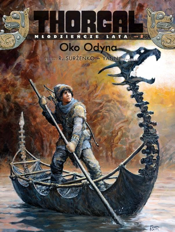 Okładka książki - Thorgal. Oko Odyna, tom 2