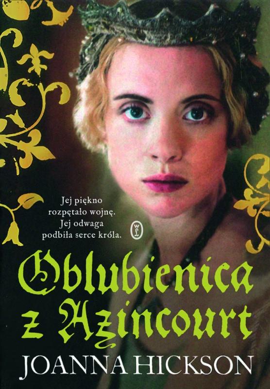 Okładka książki - Oblubienica z Azincourt