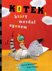 Okładka książki - Kotek, który merdał ogonem